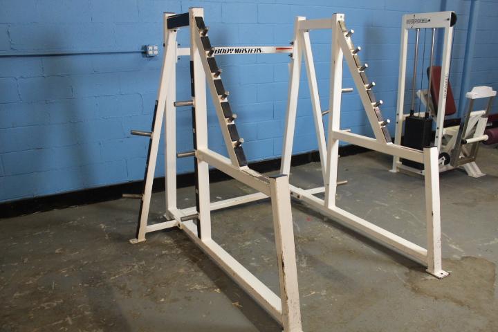 Used Squat Rack >> Body Masters Squat Rack Used