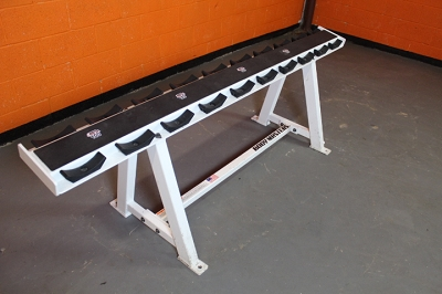 Bodymasters 1 tier Dumbbell Rack - used