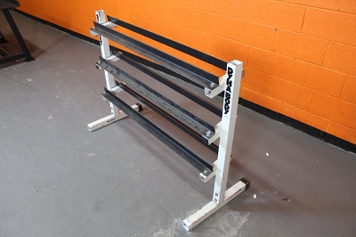 Dynabody 3 tiered Dumbbell Rack - used
