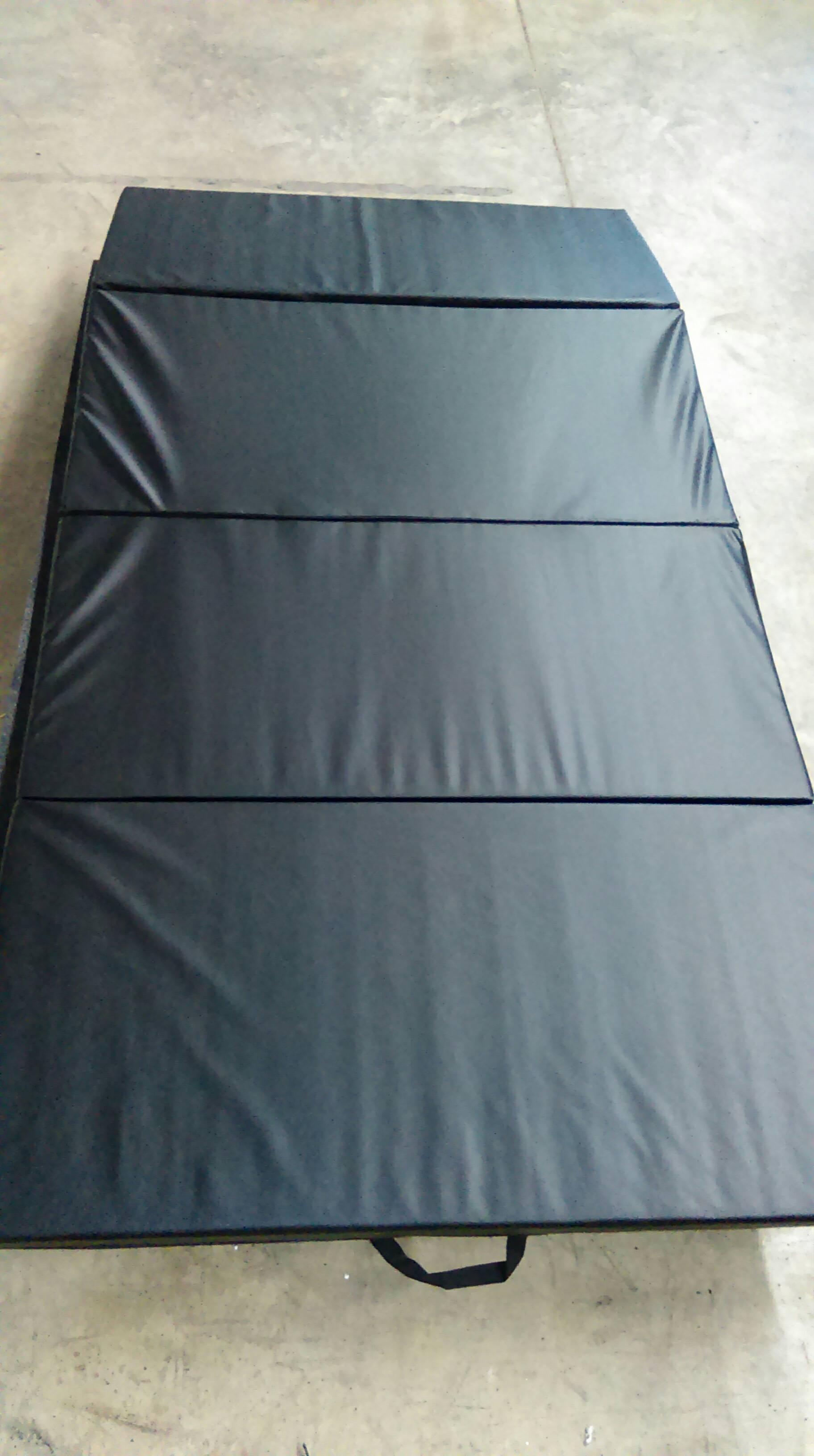 4x8x2 black panel tumbling mat. Black Bedroom Furniture Sets. Home Design Ideas