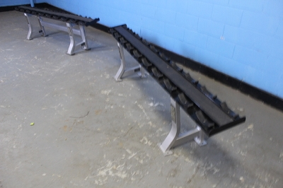 Hammer Strength Single Tier Dumbbell Rack - Used