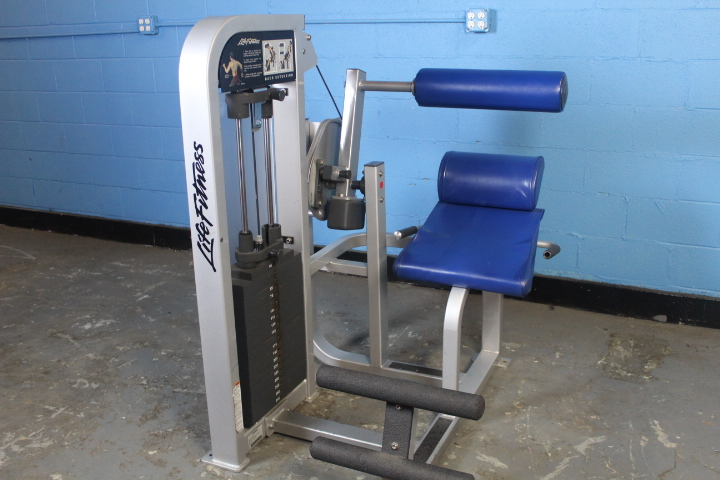 Life Fitness Back Extension - Used