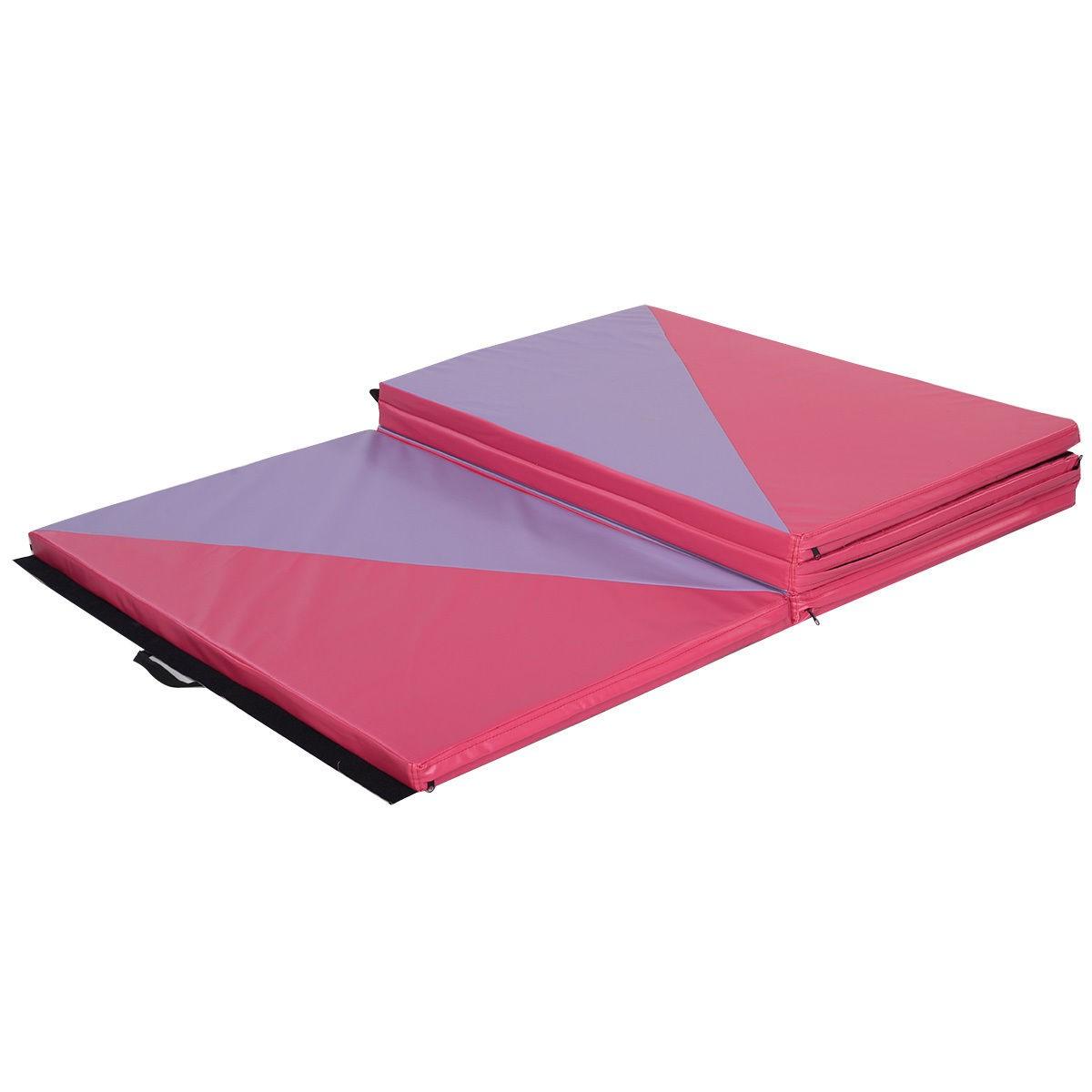 pink%20purple%20lavendar%20gymnastics%20mat%204x10 Panel Mat on