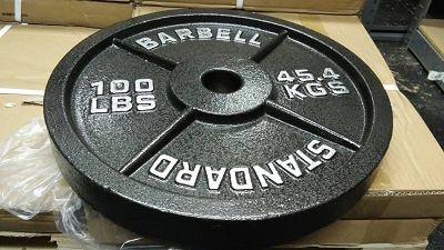 100lb Standard Olympic Plate