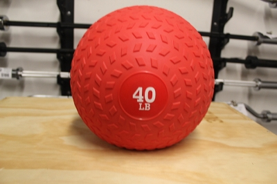 40lbs Slam Ball - new