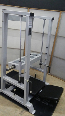 Vertical Leg Press - Ironclad