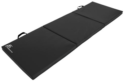 6'x2' Gymnastics Folding Mat Black
