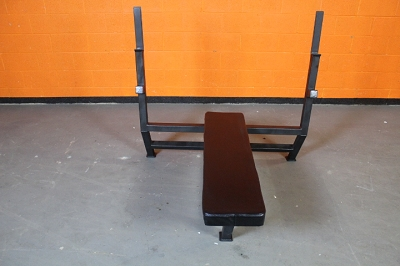 Olympic Flat Bench - Black Frame