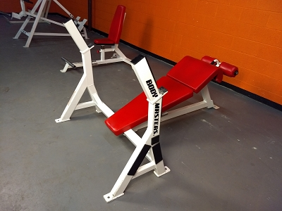 Bodymasters Olympic Decline Bench - used