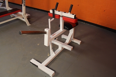 Bodymasters plate loaded seated calf machine - used