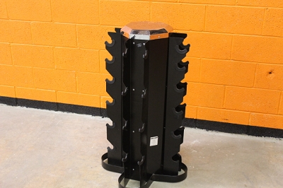 Cap 4 sided dumbbell rack - Used
