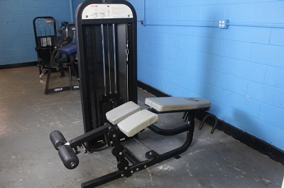 Champion Barbell Prone Leg Curl - used