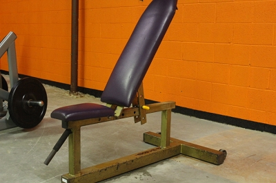 Dynabody Adjustable bench - Gold- Used