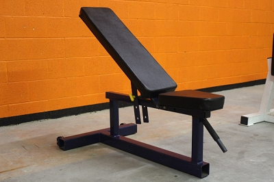 Dynabody Adjustable Bench - Navy Blue - Used