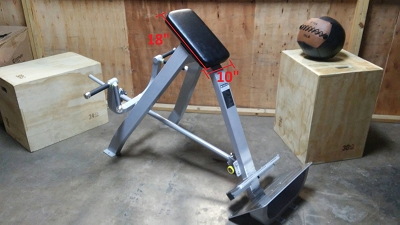 Chest Supported Tbar Row - Ironclad