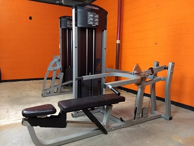 Multi Press - Life Fitness - Used