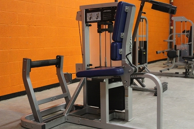 Life Fitness Pro 2 Horizontal Calf Machine - Used