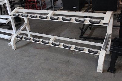 2 Tier Dumbbell Rack - Maxicam - Used
