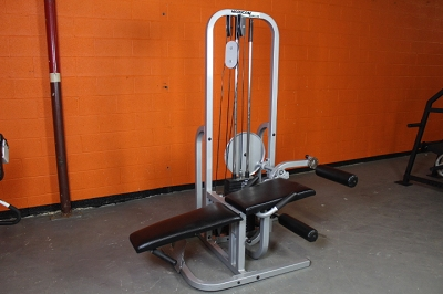 Maxicam Combo Machine - Prone Leg Curl, Leg Extension, Low Row - Used