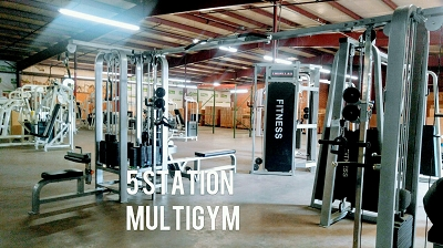 5 Station Ironclad Multigym