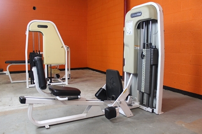 Nautilus Seated Calf Machine - Used