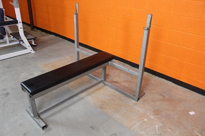 Silver Olympic Flat Bench - Used