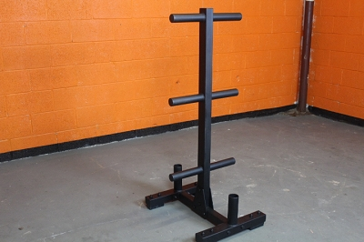 Power Pro Olympic Bumper Plate Tree/Bar Holder