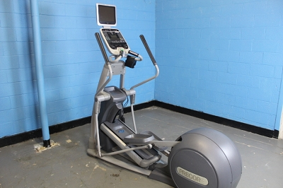 Precor 576i Elliptical with TV - used