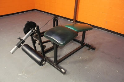 Prone Leg Curl - plate loaded - used