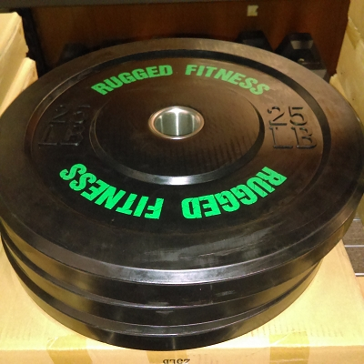 750lbs NEW Bumper Plate Package