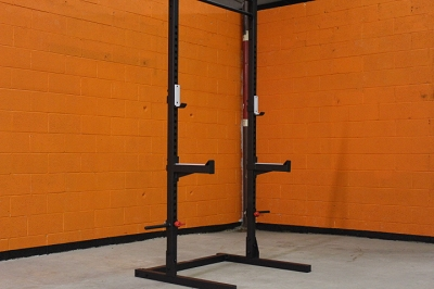 Rugged Fitness Half Rack - New