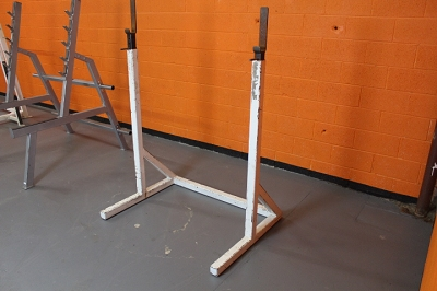White Squat Rack - Used