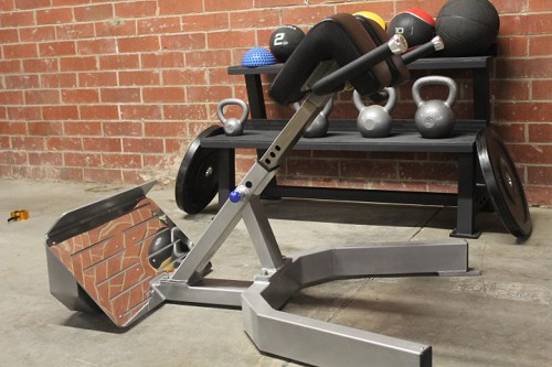 New Ironclad Hyper Extension Bench