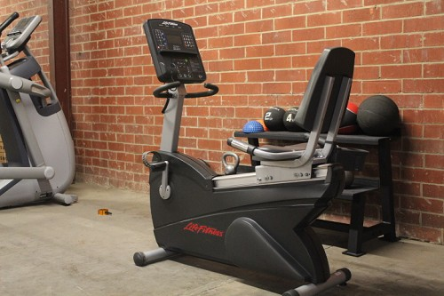 Life Fitness CLSR Integrity Series Recumbent Bike -Used