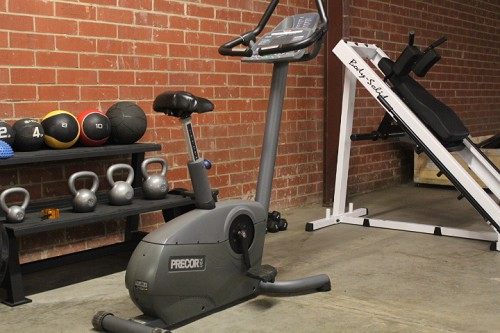 Precor C846i Upright Bike - Used