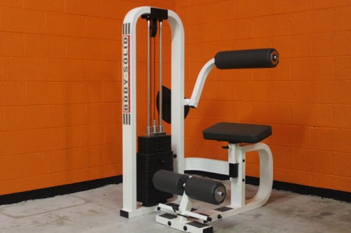 Body Solid Back Extension - used