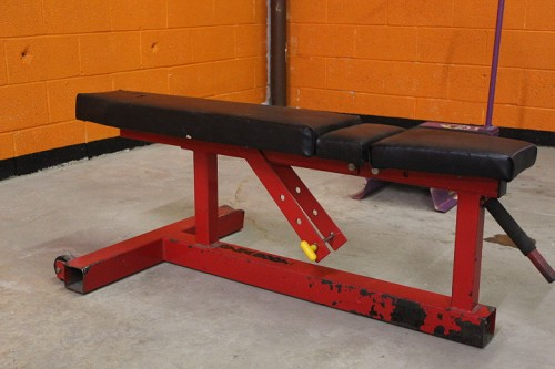 Dynabody Adjustable Bench - Red - Used