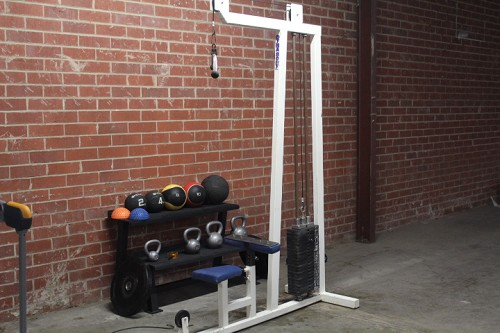 Dynabody Lat pull down low row combo