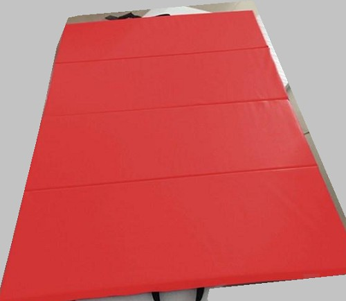 "4x8x2"" Panel Gymnastics Mat Red"