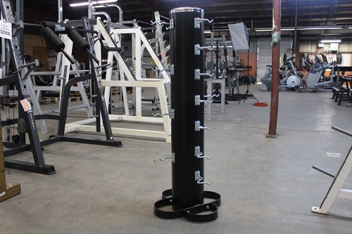 Cable attachment storage tower - Rugged Fitness