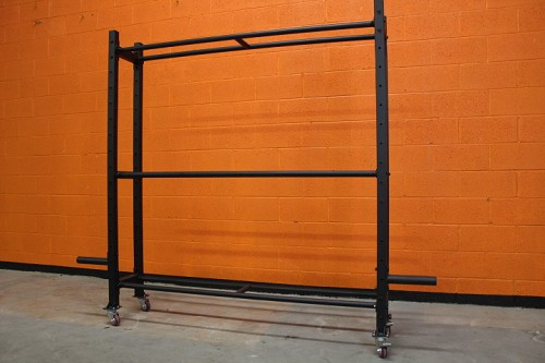 Bumper and Wall Ball storage rack - Rugged Fitness