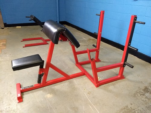 Williams Strength Preacher Curl Bench with weight storage - used