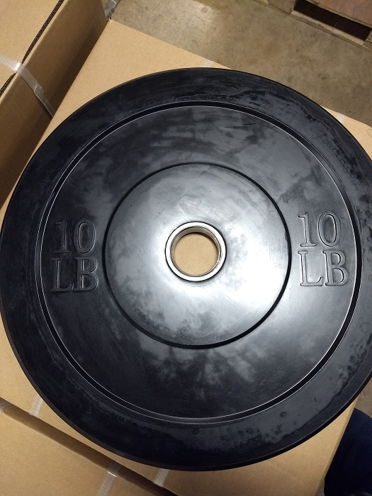 10lbs Olympic Bumper Plate - new