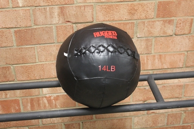 Rugged Fitness 14 lb Wall Ball - New