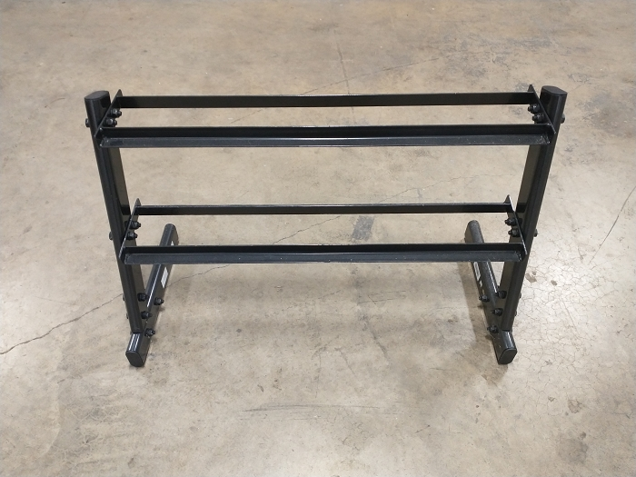 2 - Tier Black Dumbbell Rack - Used