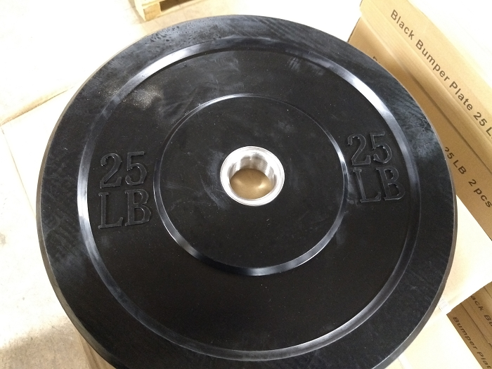 25lbs Olympic Bumper Plate - new