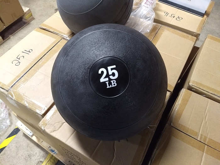25lbs Slam Ball - new
