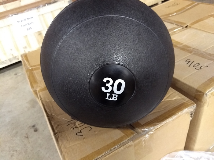 30lbs Slam ball - new