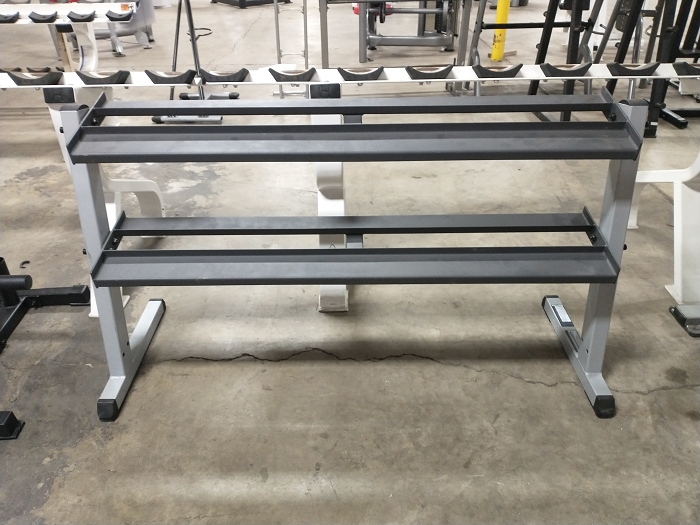 Body Solid 2 Tier Rack - Used