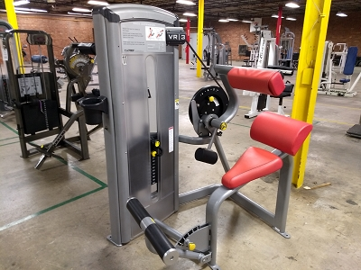 Cybex VR3 Back Extension - Used